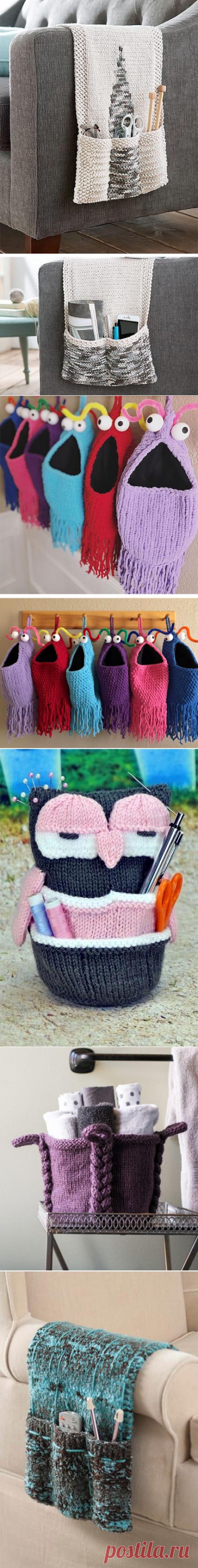 Storage Knitting Patterns- In the Loop Knitting
