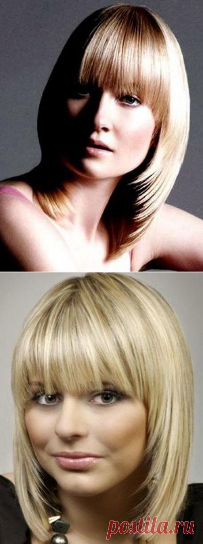 Женские повседневные прически на средние волосы / Все для женщины