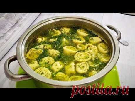 Суп с чесночными галушками Необыкновенный рецепт Soup