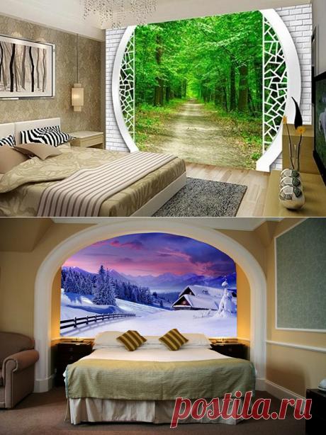 Как выбрать фотообои для спальни? Советы профессионалов.