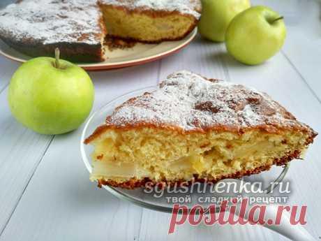 Яблочный пирог с творогом: очень вкусный, нежный и быстрый Яблочный пирог с творогом получается очень вкусным и нежным. Готовится он очень быстро, а рецепт с фото поможет в приготовлении.