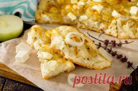 Сырная итальянская лепешка - необычайно мягкая, пышная и ароматная!