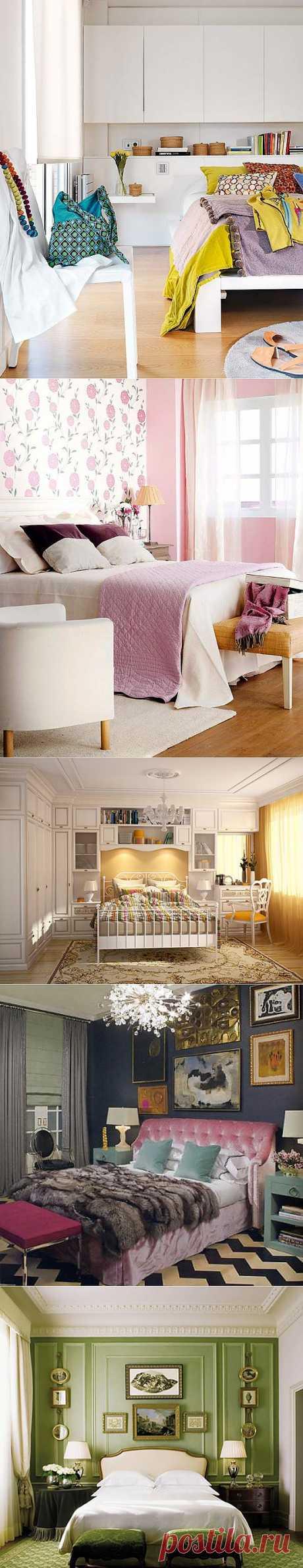 Идеи для маленькой спальни | УЮТНЫЙ ДОМ | советы