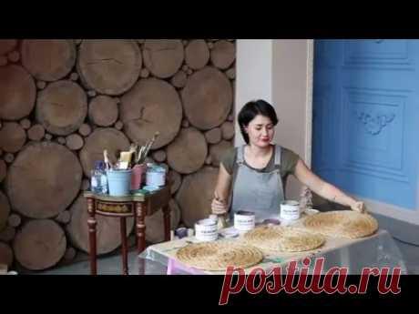 """Видео-совет Дарьи Гейлер """"Как перекрасить тумбочку из ламинированного ДСП без грунта и шлифовки"""""""