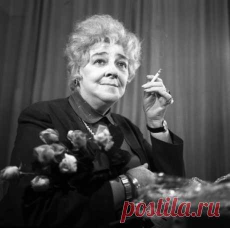 Топ-20 цитат легендарной Фаины Раневской