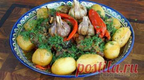 Думляма в казане Вашему вниманию отличный рецепт Думлямы! Думляма считается одним из самых простых и при этом вкуснейших блюд азиатской узбекской кухни! Очень рекомендую внимательно изучить рецепт и попробовать его по...
