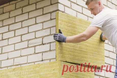 Технология утепления кирпичных стен дома | ЗАПИСКИ СТАРОГО ПРОРАБА | Яндекс Дзен
