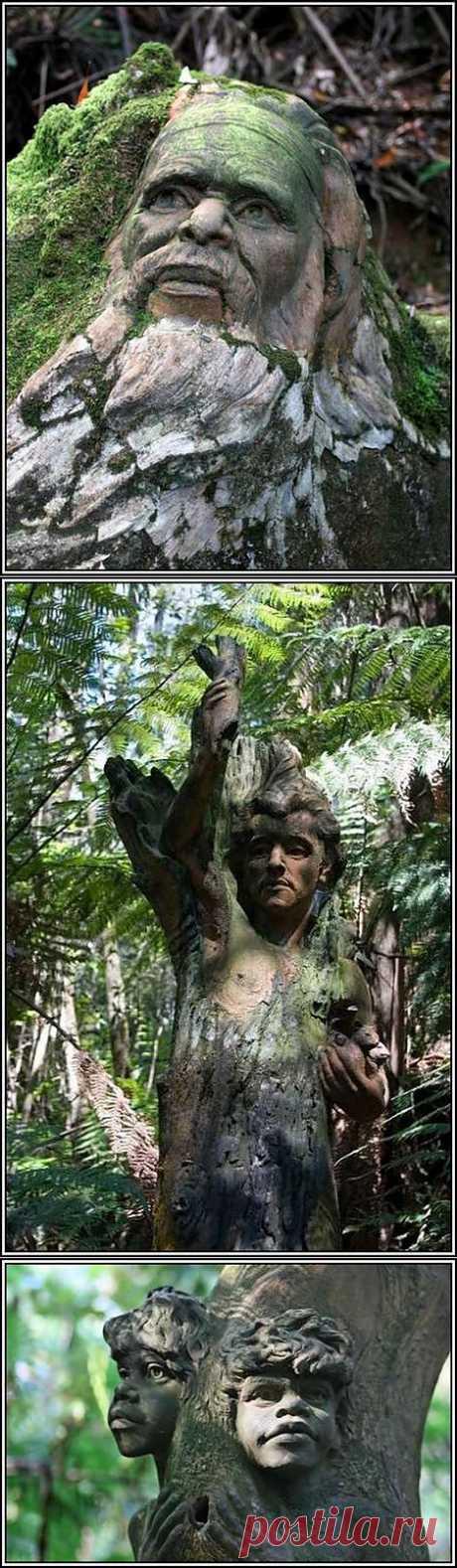 (+1) тема - Aвстралийский художник Уильям Рикетс. | Искусство
