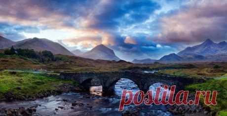 Сказочный остров Скай в Шотландии