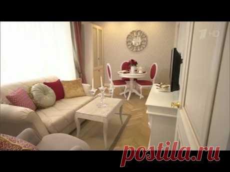 Гостиная и спальня для Людмилы Хитяевой. ИДЕАЛЬНЫЙ РЕМОНТ