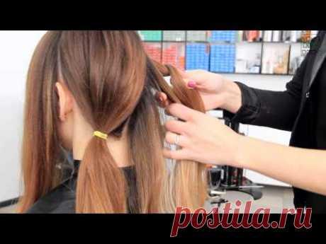 Прическа на каждый день   Офисный стиль   Для длинных и средних волос    YourBestBlog