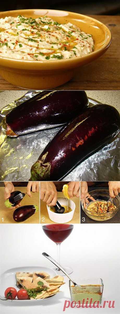Babaganoush : соус из печеных баклажан   One of Lady - Журнал для женщин