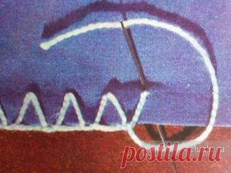 Оформление края изделия - вязанием и простыми стежками. Мастеркласс