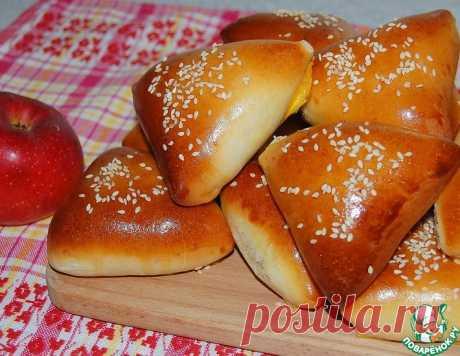 """Пирожки с яблоками """"Сочные пушинки"""" – кулинарный рецепт"""