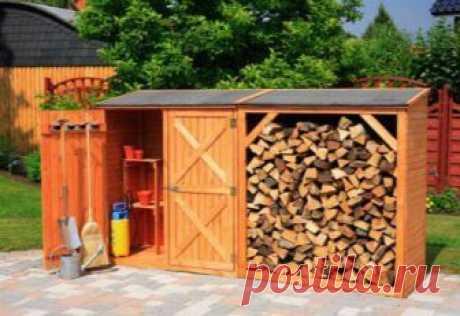 Домик для дров