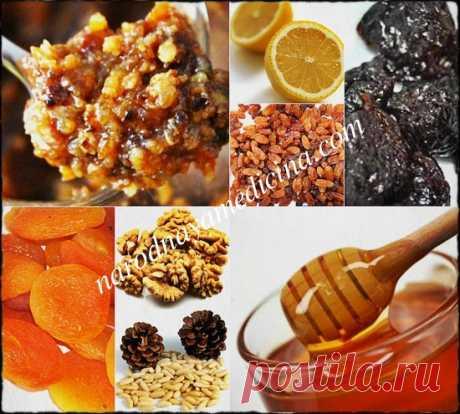 Витаминная смесь для иммунитета. Рецепт витаминной смеси из сухофруктов.   Блог Алёны Кравченко