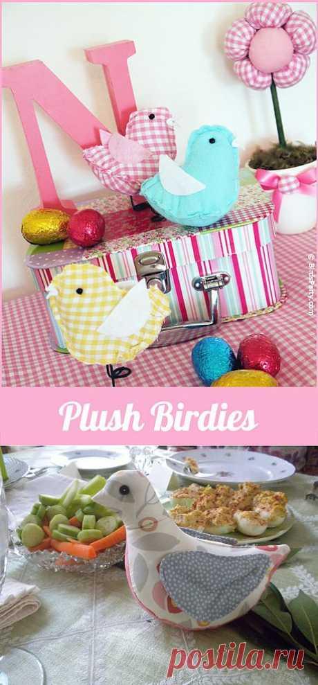 STUFFED BIRD PATTERNS « Free Patterns