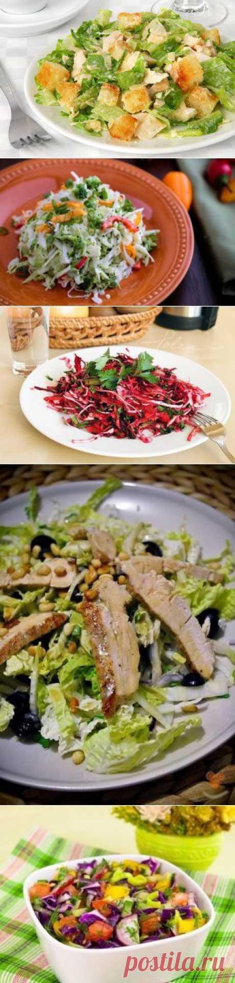 Салат из капусты - 5 рецептов с фото.