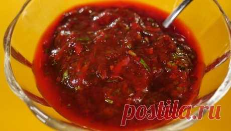 La salsa tkemali