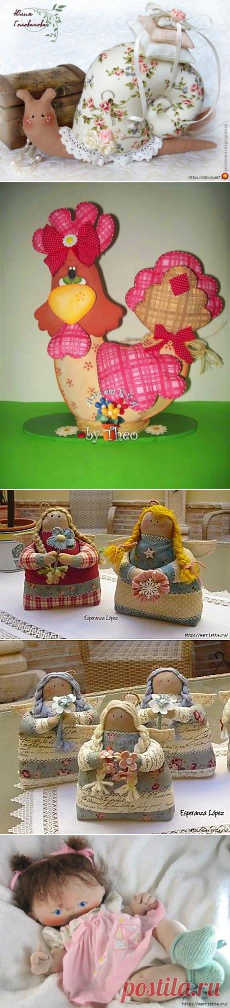 Поиск на Постиле: текстильная игрушка