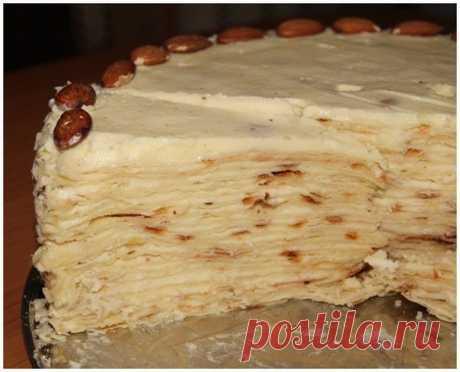 """Торт """"Наполеон"""" на сковороде — Sloosh – кулинарные рецепты"""