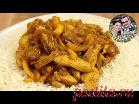 Сочная Курица с овощами на сковородке за 20 минут  Быстро и вкусно  От кухня в Кайф