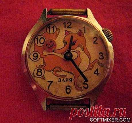 Часы советской эпохи
