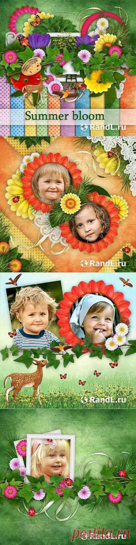 Прекрасный летний скрап-комплект - Цветущие летом » RandL.ru - Все о графике, photoshop и дизайне. Скачать бесплатно photoshop, фото, картинки, обои, рисунки, иконки, клипарты, шаблоны.