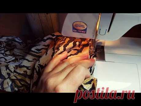 Как легко строчить трикотаж на обычной швейной машинке. Ответы на комментарии.