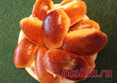 Пирожки из сдобного заварного теста по старинному семейному рецепту