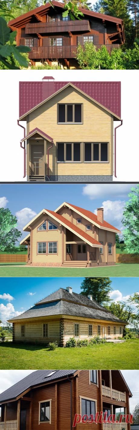 Внешняя отделка брусового дома: используемые материалы и технологии ⋆ DomaStroika.com