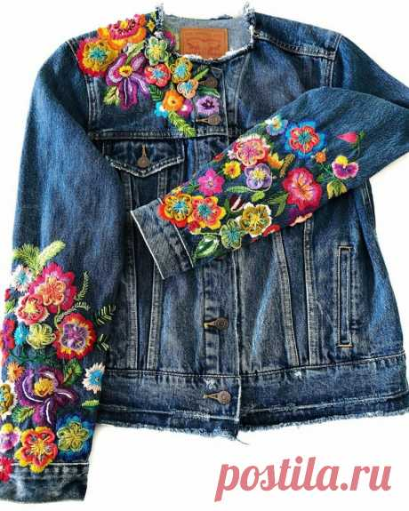 Старый добрый джинс: как из поношенных вещей создать шедевр - Сам себе мастер - медиаплатформа МирТесен