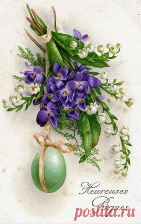 Vintage cards by Easter