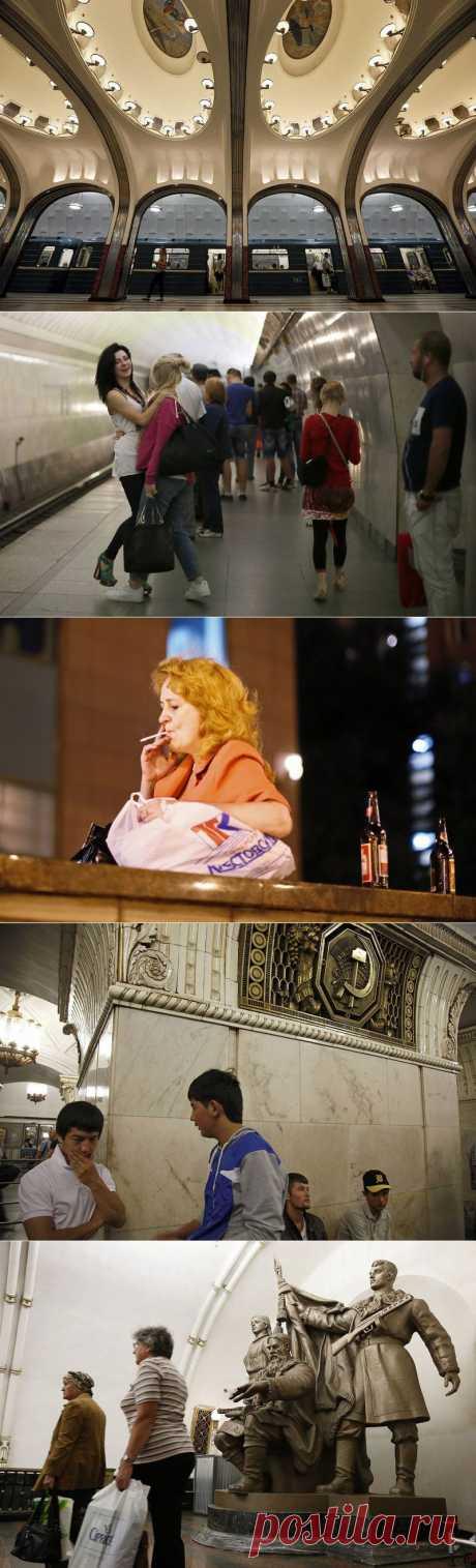 Московское метро глазами иностранки : НОВОСТИ В ФОТОГРАФИЯХ