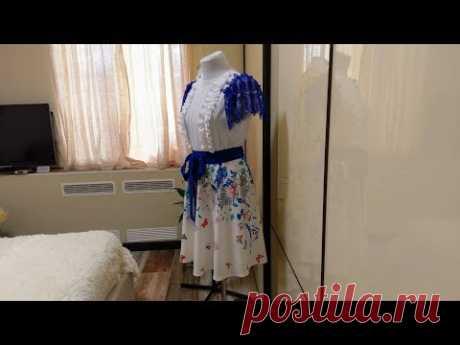Обзор платьев - сшитое  СЕГОДНЯ за день