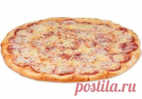 Пицца с копченой колбасой | Бюджетные и простые рецепты | Яндекс Дзен