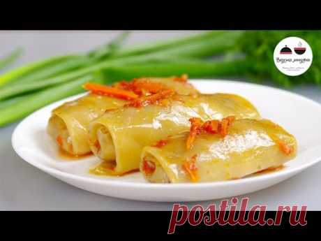 Believe, it is very tasty! Stuffed cabbage with mushrooms in an oven