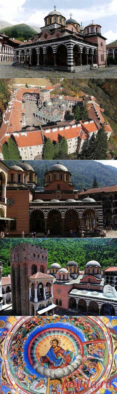 Рильский монастырь, Болгария.
