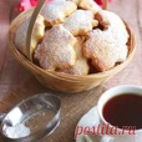 """Печенье на крахмале """"Нежность"""" Кулинарный рецепт"""