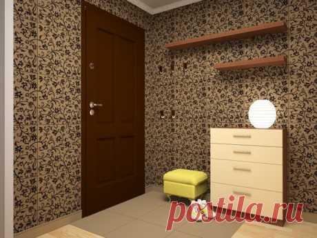 Чем можно отделать стены в коридоре вместо обоев, чтобы коты не драли стены, чем обклеить коридор