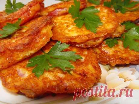 Los tomates en el rebozo de queso — el libro Culinario - las recetas, la foto, las revocaciones