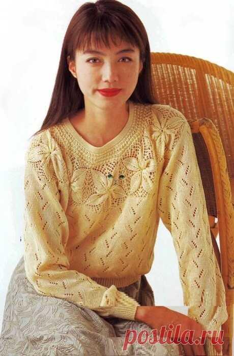 Десять красивых пуловеров (схемы для спиц) | Южная сова | Яндекс Дзен