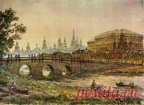 История Московской улицы, которая в прошлом была крупной рекой | О Москве нескучно | Яндекс Дзен