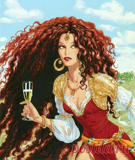 Ты -вечности кувшин, Звезда гарема, волшебство востока! Ana Miralles