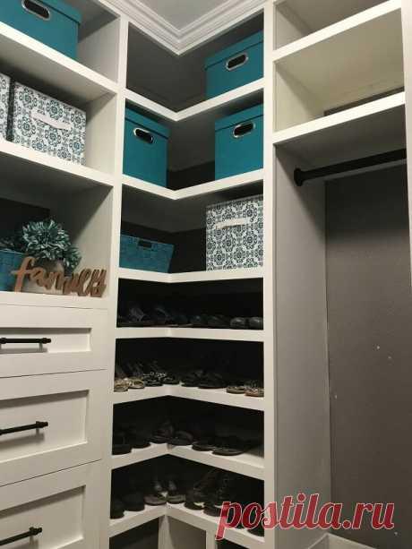 How to Build a DIY Closet Organizer with Built-In Storage | Hometalk