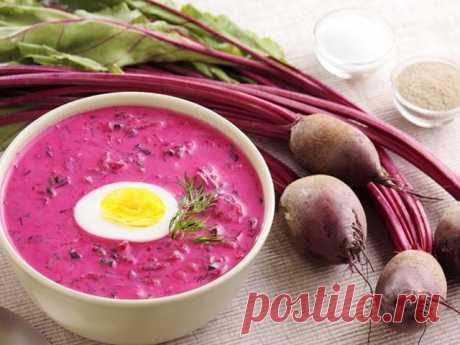 Свекольник холодный летний — Sloosh – кулинарные рецепты