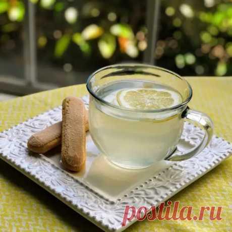 Чай с медом и лимоном - ФотоРецепт - медиаплатформа МирТесен