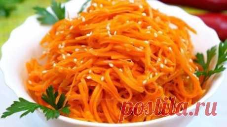Самая сочная и пикантная морковка по-корейски. Почти,как из корейского ларька!!! Обожаю этот рецептик!!!