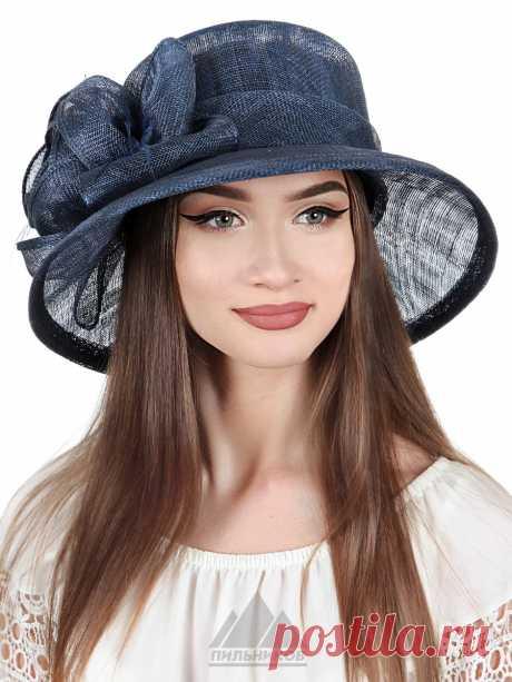 Шляпа Луана - Женские шапки - Из соломки купить по цене 3126 р. с доставкой в Интернет магазине Пильников