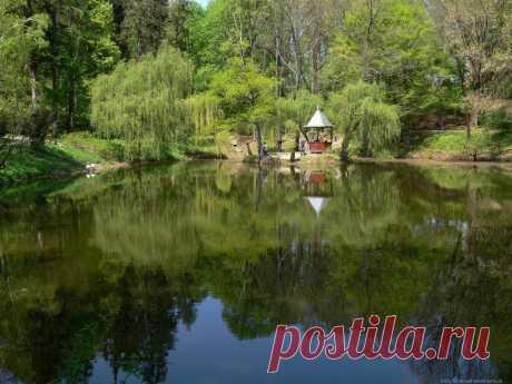 Краснокутский дендропарк расположившийся не далеко от города Харькова существует уже более 200 лет. Основателем парка был Иван Каразин.